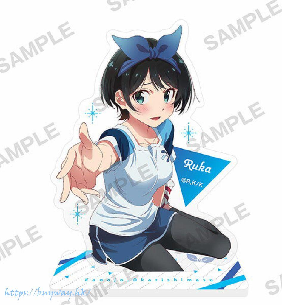 出租女友 「更科瑠夏」半身亞克力企牌 Acrylic Stand Figure Ruka Sarashina【Rent-A-Girlfriend】