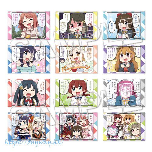 LoveLive! 虹咲學園校園偶像同好會 方形徽章 ミヤコヒト 插圖 (12 個入) Square Can Badge Complete BOX (12 Pieces)【Love Live! Nijigasaki Academy School Idol Club】
