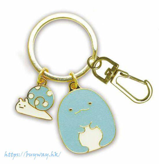 角落生物 「蜥蜴 + 蛞蝓」匙扣 2-ren Keychain (Tokage and Nisetsumuri)【Sumikko Gurashi】
