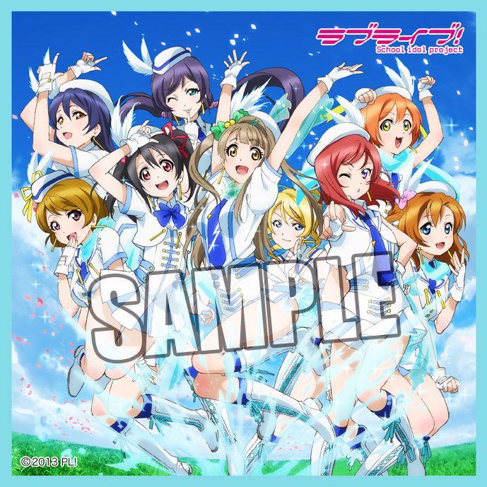 LoveLive! 明星學生妹 (2 枚入)「Wonderful Rush」小毛巾 (3 Pieces) Microfiber CD Jacket Mini Towel Wonderful Rush【Love Live! School Idol Project】