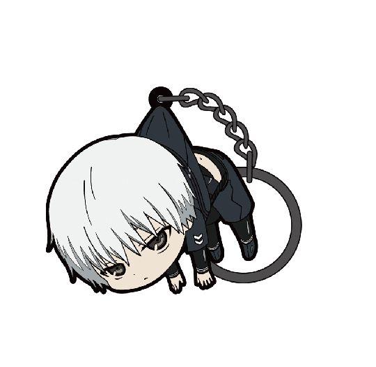 東京喰種 「金木研」吊起匙扣 (3 Pieces) Key Chain Kaneki Ken【Tokyo Ghoul】