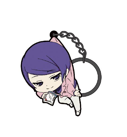 東京喰種 「月山習」吊起匙扣 (3 Pieces) Key Chain Tsukiyama Shu【Tokyo Ghoul】