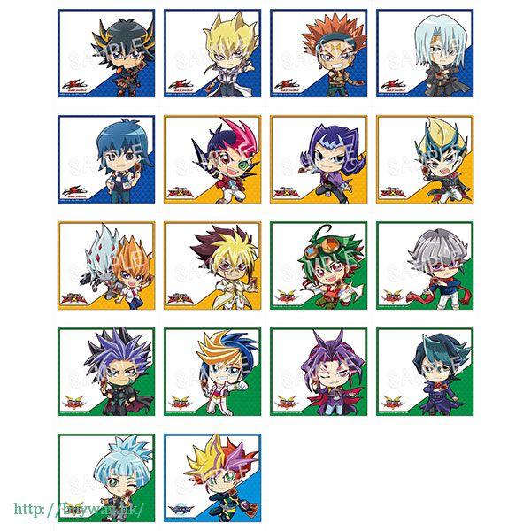 遊戲王 色紙 Vol.1 Type B (18 個入) Fortune Visual Shikishi Vol. 1 Usamimi Ver. Type: B (18 Pieces)【Yu-Gi-Oh!】