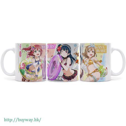 LoveLive! Sunshine!! 「津島善子 + 國木田花丸 + 黑澤露比」杯子 Full Color Mug Yoshiko + Hanamaru + Ruby【Love Live! Sunshine!!】