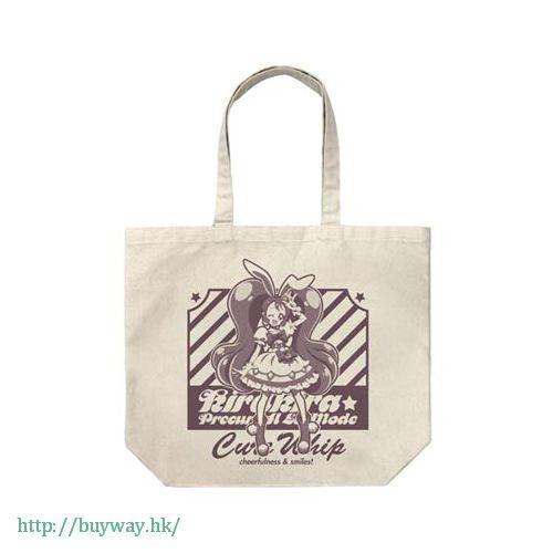 光之美少女系列 「宇佐美一花 / 奶油天使」米白 袋子 Cure Whip Large Tote Bag / NATURAL【Pretty Cure Series】