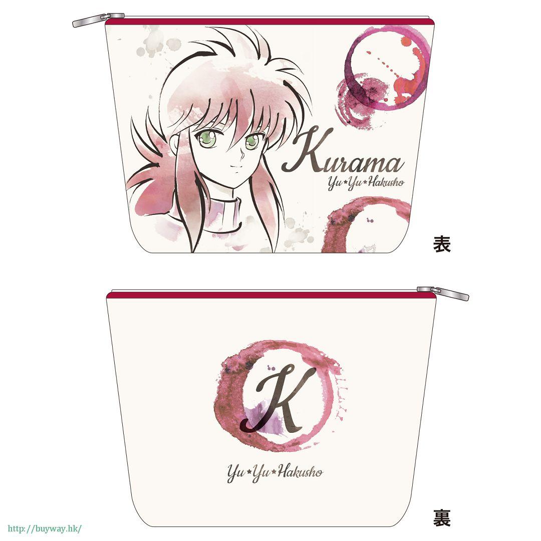 幽遊白書 「蔵馬」小物袋 Multi Pouch Kurama【YuYu Hakusho】