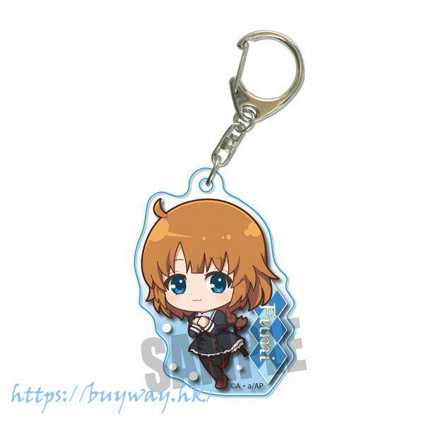 Assault Lily 「二川二水」走著 亞克力匙扣 Tekutoko Acrylic Key Chain Fumi Futagawa【Assault Lily】