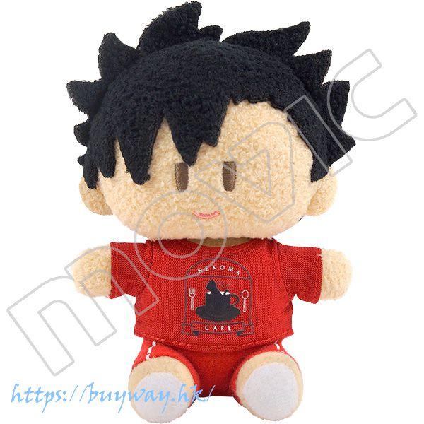 排球少年!! 「黑尾鐵朗」Mini 毛絨公仔 Yorinui Plush Mini Kuroo Tetsuro【Haikyu!!】