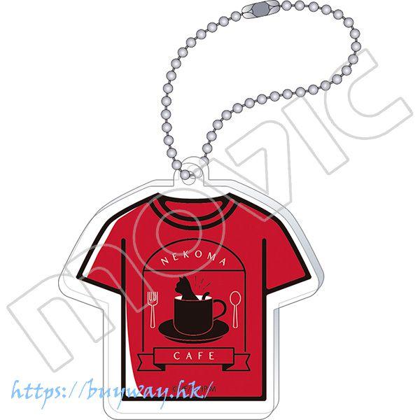 排球少年!! 「音駒高中」T-Shirt 亞克力匙扣 Acrylic Key Chain T-Shirt Ver. Nekoma High School【Haikyu!!】