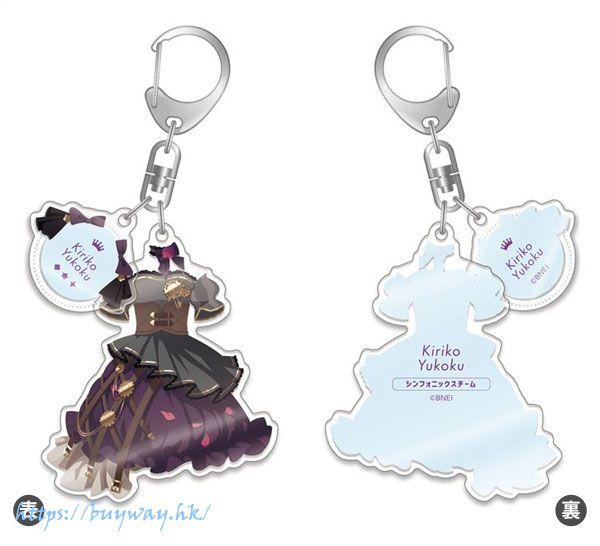 偶像大師 閃耀色彩 「幽谷霧子」SPARKLE!!服裝 亞克力匙扣 Outfit Acrylic Key Chain Kiriko Yuukoku Sparkle Illumination ver.【The Idolm@ster Shiny Colors】