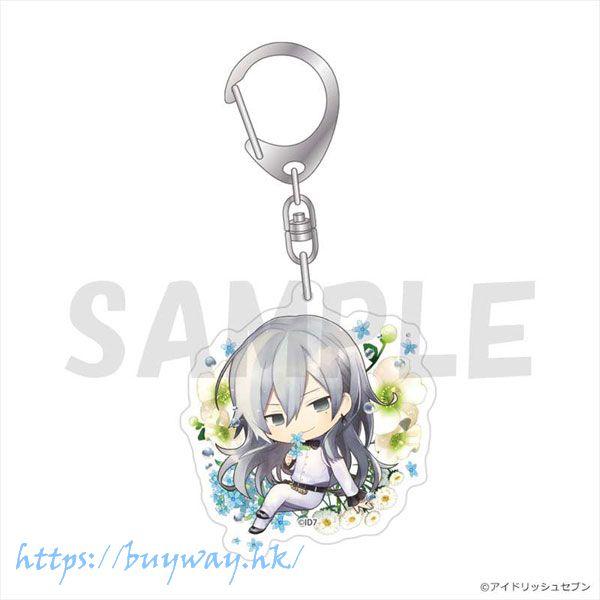 IDOLiSH7 「千」Chara Floral 亞克力匙扣 Chara Floral Acrylic Key Chain Yuki【IDOLiSH7】