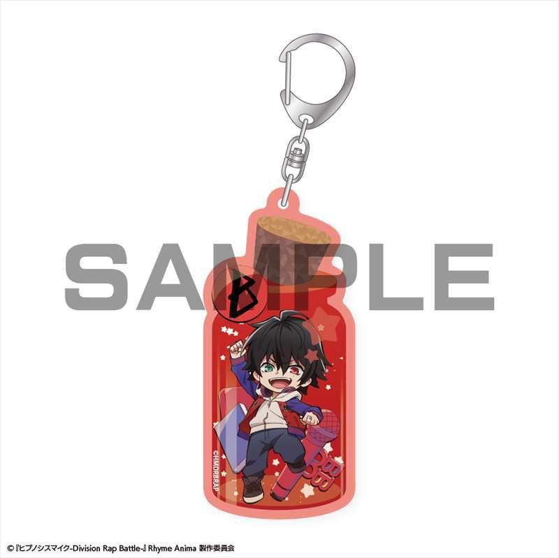 催眠麥克風 -Division Rap Battle- 「山田一郎」瓶子 亞克力匙扣 CharaToria Acrylic Key Chain Yamada Ichiro【Hypnosismic】