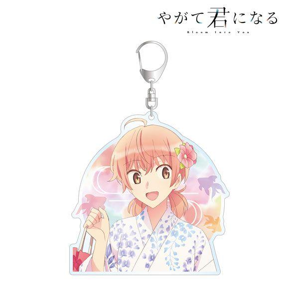 終將成為妳 「小糸侑」浴衣 Ver. BIG 亞克力匙扣 New Illustration Yuu Koito Yukata ver. BIG Acrylic Keychain【Bloom Into You】
