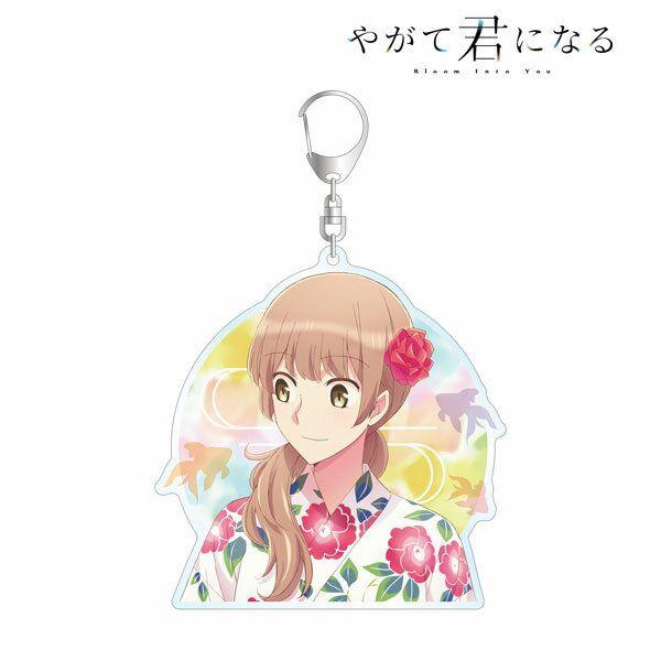 終將成為妳 「佐伯沙彌香」浴衣 Ver. BIG 亞克力匙扣 New Illustration Sayaka Saeki Yukata ver. BIG Acrylic Keychain【Bloom Into You】