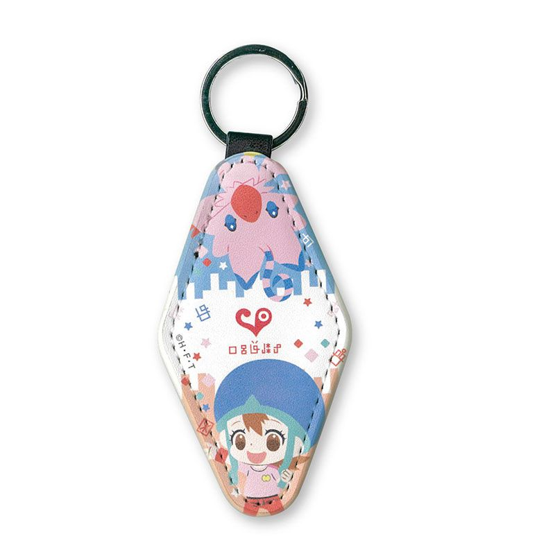 數碼暴龍系列 「空 + 比丘獸」皮革 鏡子匙扣 Mirror Tag Key Chain Sora & Piyomon【Digimon】