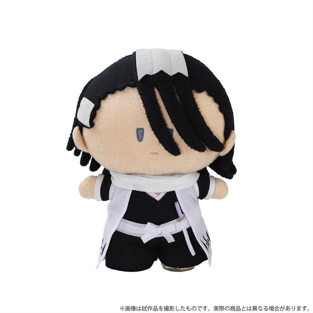 死神 「朽木白哉」毛絨站立公仔 Yorinui Plush Kuchiki Byakuya【Bleach】