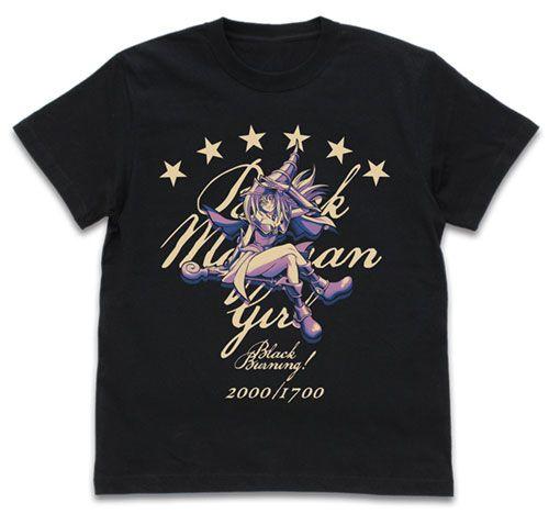 遊戲王 (加大)「黑魔導女孩」Ver.2.0 黑色 T-Shirt Black Magic Girl T-Shirt Ver.2.0/BLACK-XL【Yu-Gi-Oh!】