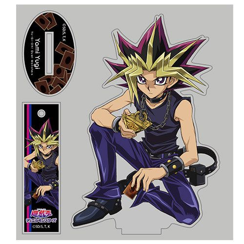 遊戲王 「闇遊戲」Relax Ver. 亞克力企牌 Yami Yugi Acrylic Stand Relax Ver.【Yu-Gi-Oh!】