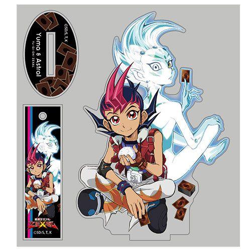遊戲王 「九十九遊馬 + 阿斯特拉爾」Relax Ver. 亞克力企牌 Yuma & Astral Acrylic Stand Relax Ver.【Yu-Gi-Oh!】