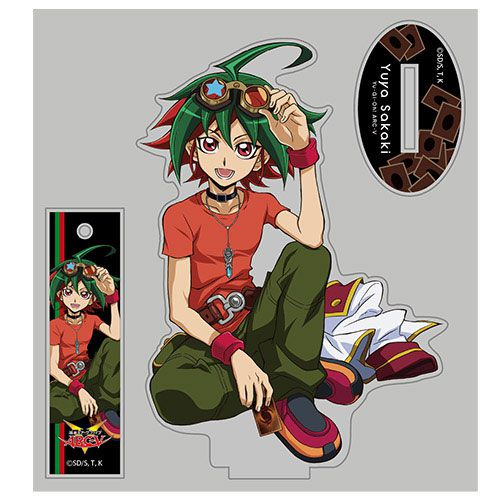 遊戲王 「榊遊矢」Relax Ver. 亞克力企牌 Yuya Sakaki Acrylic Stand Relax Ver.【Yu-Gi-Oh!】