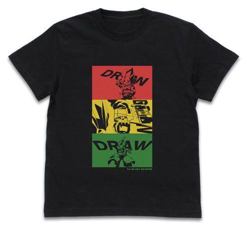遊戲王 (加大)「王道遊我」のドロー!黑色 T-Shirt Yuga's Draw! T-Shirt /BLACK-XL【Yu-Gi-Oh!】