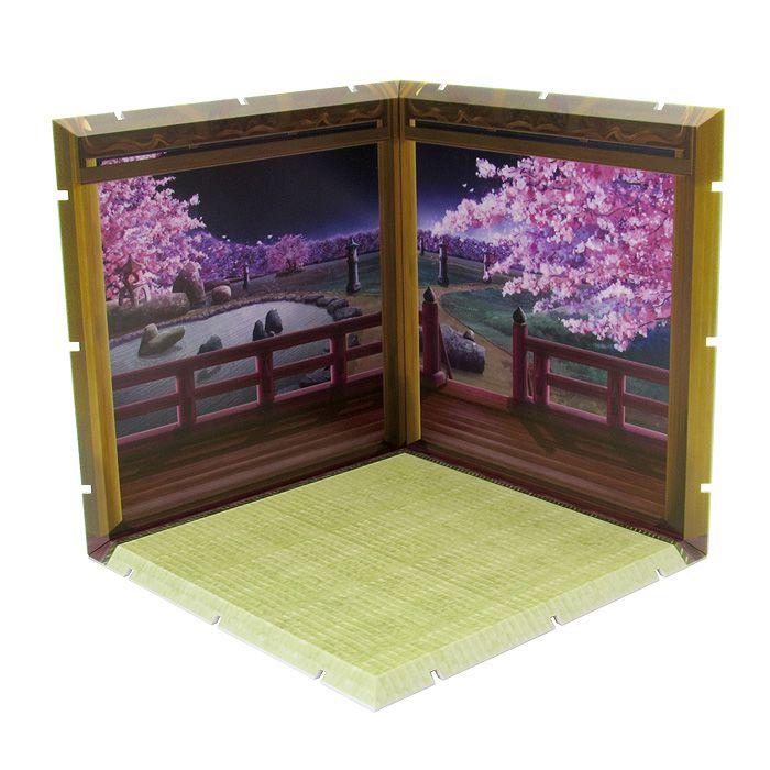 黏土人場景 Dioramansion150 夜櫻 Dioramansion 150 Yozakura【Nendoroid Playset】