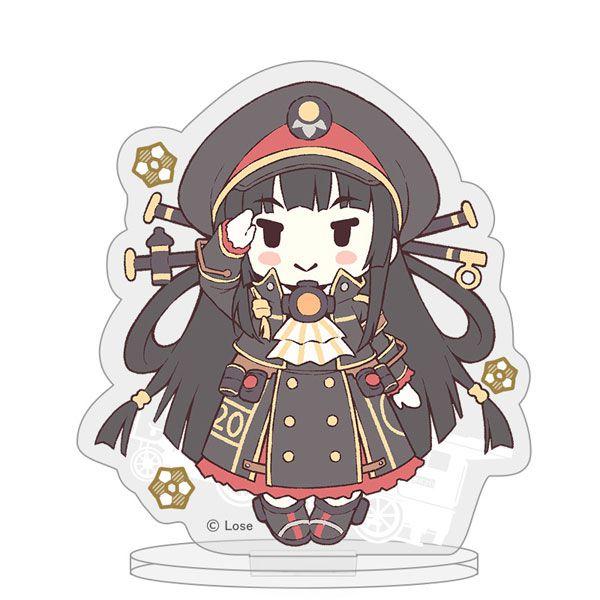愛上火車 「八六」Last Run!! 亞克力留言企牌 Last Run!! Acrylic Memo Stand (Hachiroku)【Maitetsu】