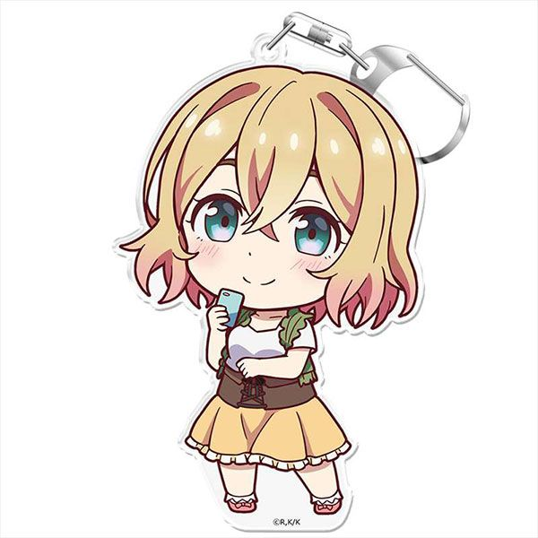出租女友 「七海麻美」にこれ!匙扣 (付台座) PuniColle! Key Chain (w/Stand) Mami Nanami【Rent-A-Girlfriend】