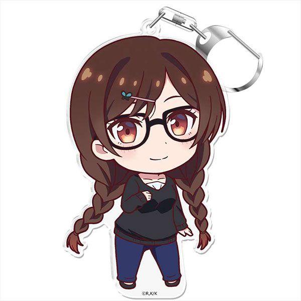 出租女友 「一之瀨千鶴」にこれ!匙扣 (付台座) PuniColle! Key Chain (w/Stand) Chizuru Ichinose【Rent-A-Girlfriend】