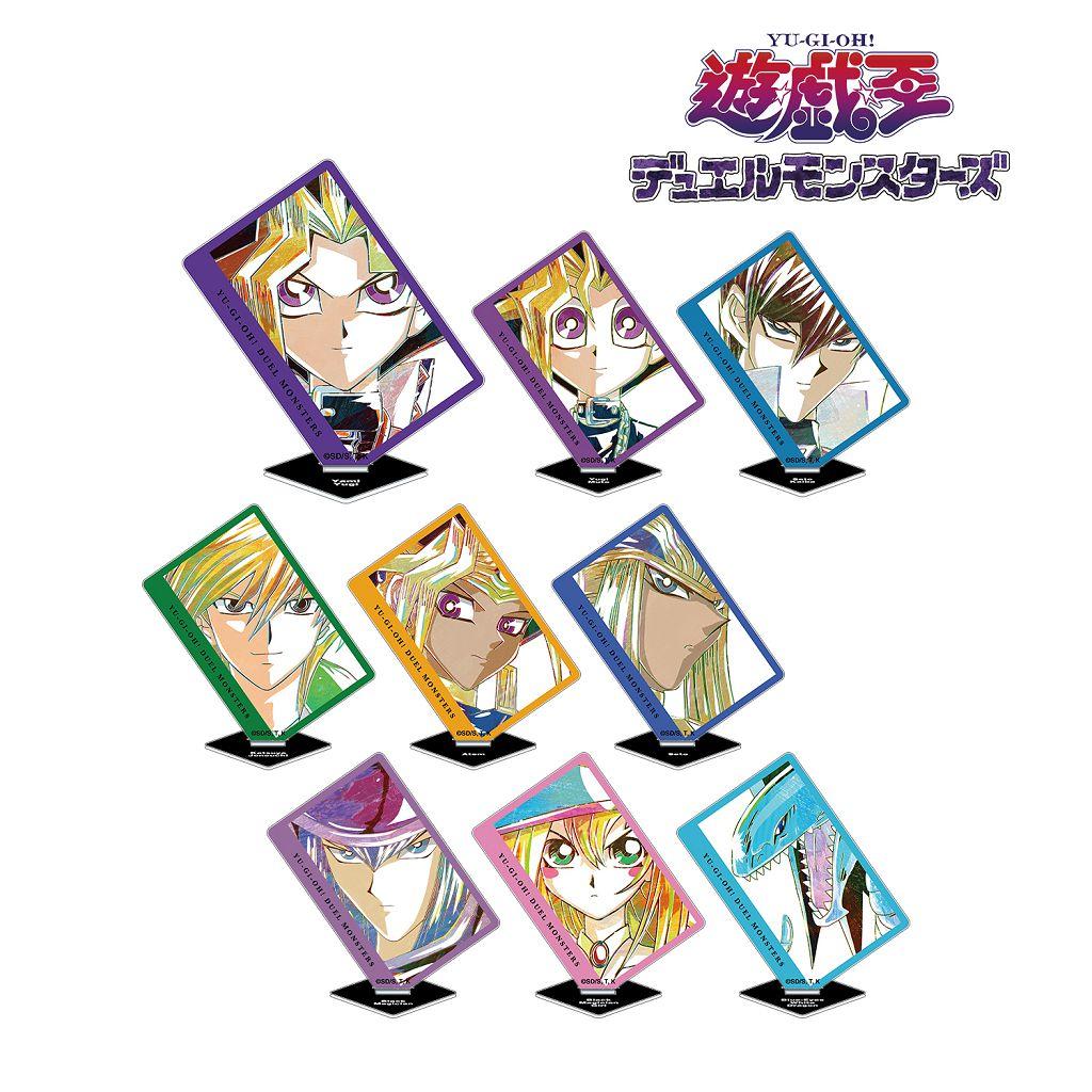 遊戲王 Ani-Art 亞克力企牌 (9 個入) Ani-Art Acrylic Stand (9 Pieces)【Yu-Gi-Oh!】