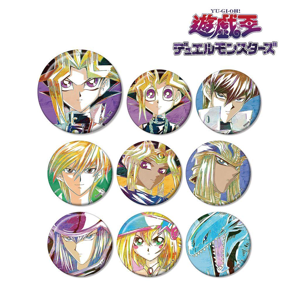 遊戲王 Ani-Art 收藏徽章 (9 個入) Ani-Art Can Badge (9 Pieces)【Yu-Gi-Oh!】