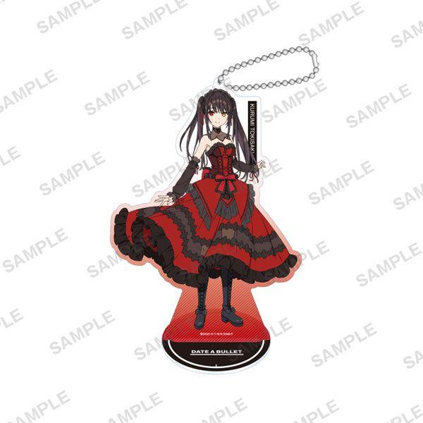 約會大作戰 「時崎狂三」赤黑新章 亞克力企牌 / 匙扣 Acrylic Stand Keychain Kurumi Tokisaki Date A Bullet【Date A Live】