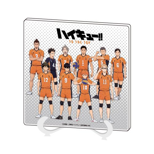 排球少年!! 「烏野高校」02 亞克力板 Acrylic Art Board 02 Karasuno【Haikyu!!】