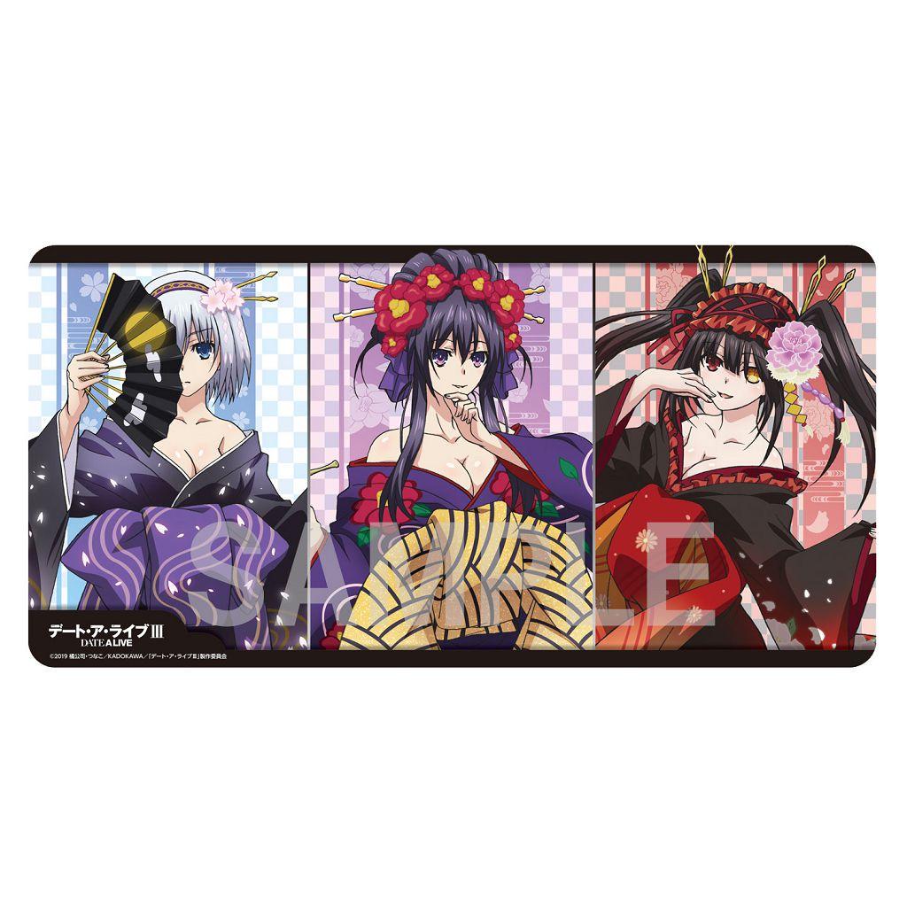 約會大作戰 遊戲墊 花魁 ver. Rubber Play Mat Collection Oiran Ver.【Date A Live】