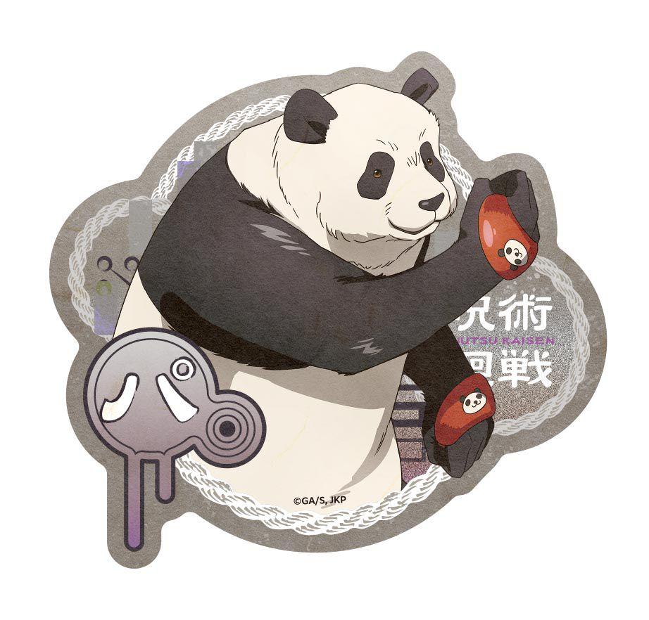 咒術迴戰 「貓熊」行李箱 貼紙 Travel Sticker 7 Panda【Jujutsu Kaisen】