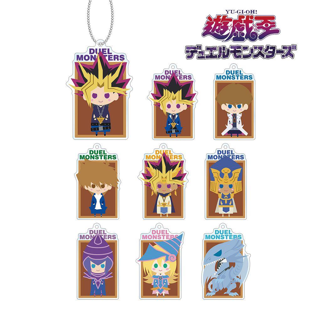 遊戲王 NordiQ 亞克力匙扣 (9 個入) NordiQ Acrylic Key Chain (9 Pieces)【Yu-Gi-Oh!】