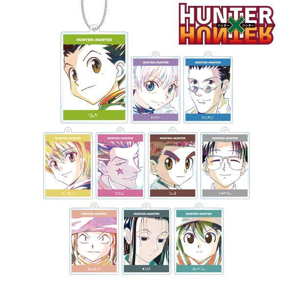 全職獵人 Ani-Art 亞克力匙扣 (10 個入) Ani-Art Acrylic Keychain (10 Pieces)【Hunter × Hunter】