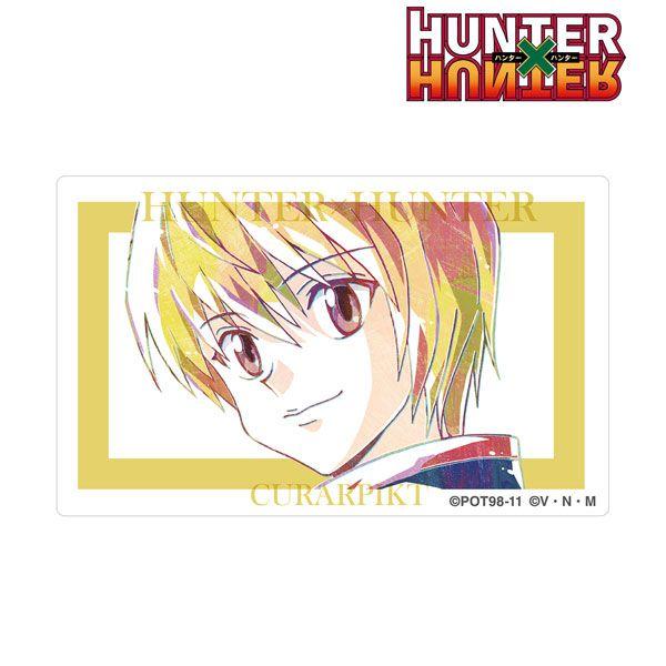 全職獵人 「古拿比加」Ani-Art 咭貼紙 Kurapika Ani-Art Card Sticker【Hunter × Hunter】