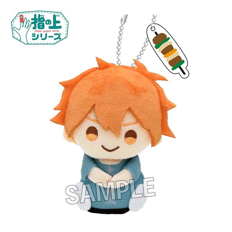 排球少年!! 「日向翔陽」合宿ver. 指偶公仔掛飾 Finger Puppet Series Training Camp Ver. Hinata Shoyo【Haikyu!!】