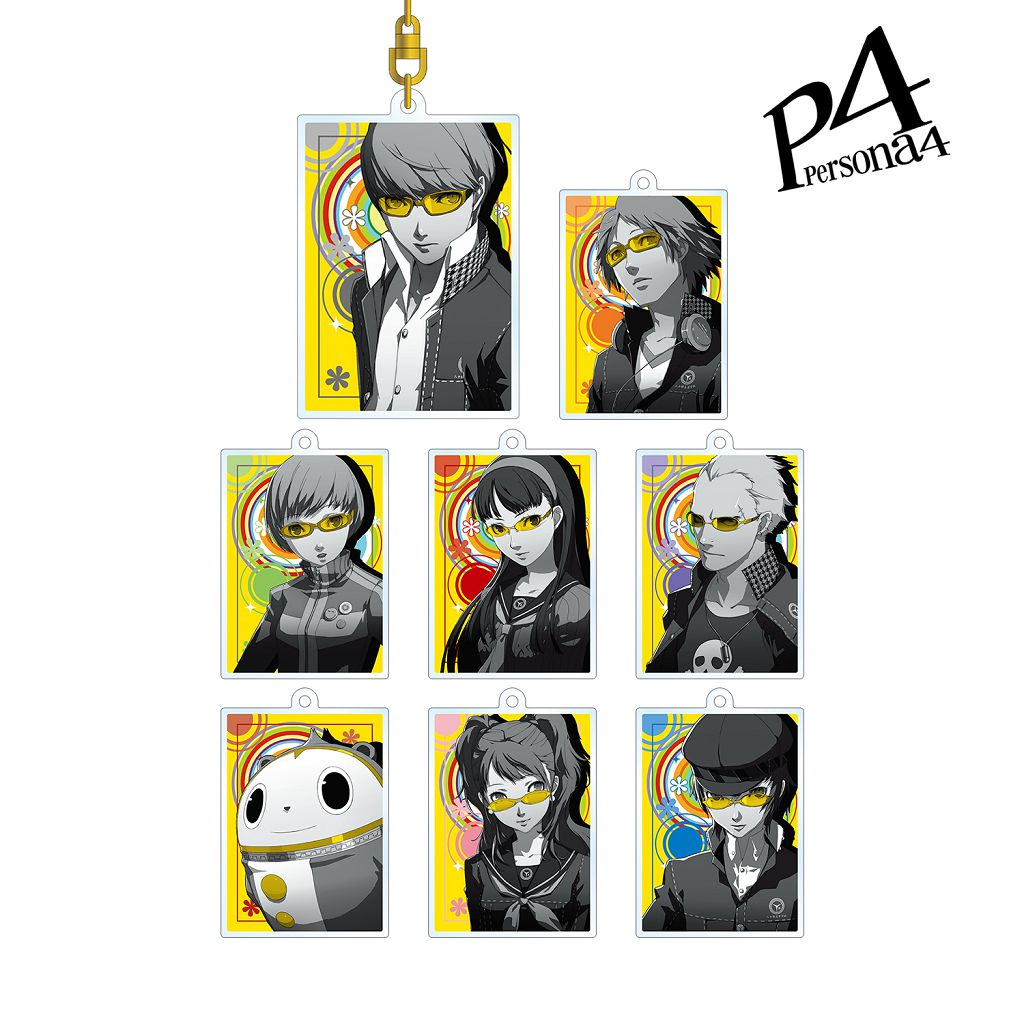 女神異聞錄系列 「Persona4」Ani-Art 亞克力匙扣 (8 個入) Ani-Art Acrylic Key Chain (8 Pieces)【Persona Series】