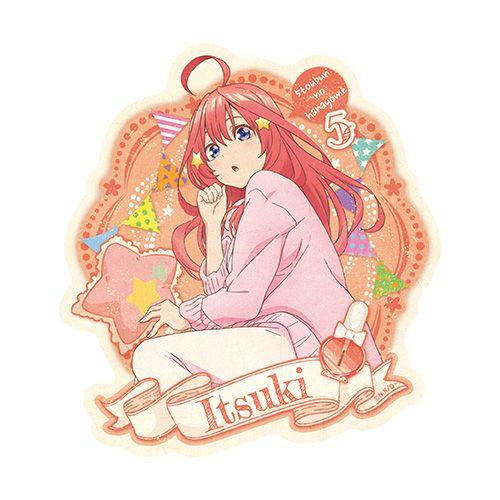 五等分的新娘 「中野五月」家居服 行李箱 貼紙 Travel Sticker Room Wear 5 Nakano Itsuki【The Quintessential Quintuplets】