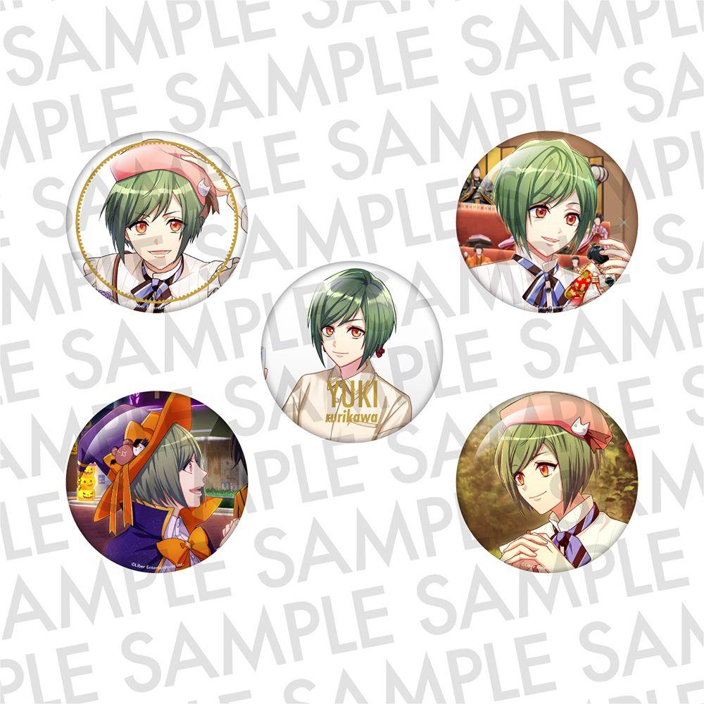A3! 「瑠璃川幸」推し 徽章 (1 套 5 款) Oshi Can Badge SUMMER Rurikawa Yuki【A3!】