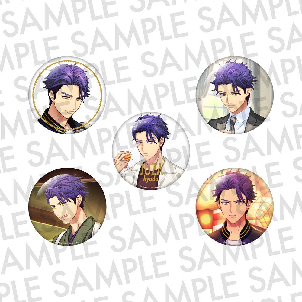 A3! 「兵頭十座」推し 徽章 (1 套 5 款) Oshi Can Badge AUTUMN Hyodo Juza【A3!】