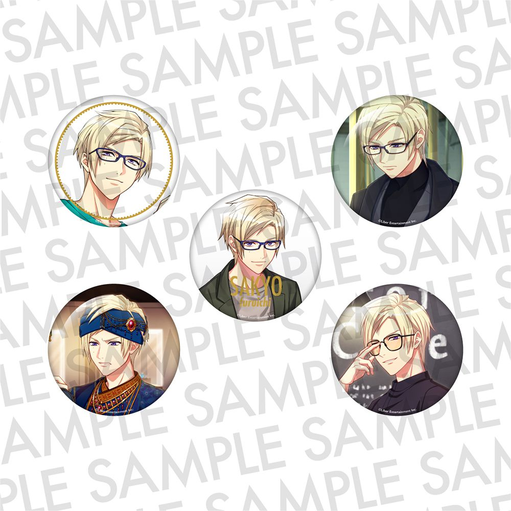 A3! 「古市左京」推し 徽章 (1 套 5 款) Oshi Can Badge AUTUMN Furuichi Sakyo【A3!】