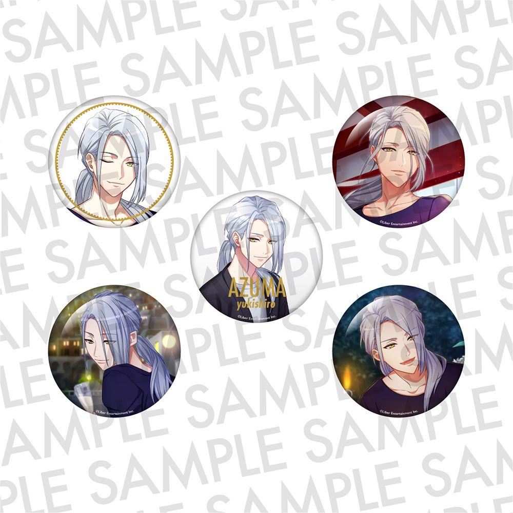 A3! 「雪白東」推し 徽章 (1 套 5 款) Oshi Can Badge WINTER Yukishiro Azuma【A3!】