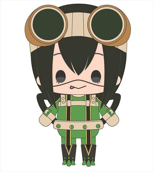 我的英雄學院 「蛙吹梅雨」(戰鬥服) 20cm 公仔 (S) Tsuyu Asui Munyu Plush S (Battle Outfit)【My Hero Academia】