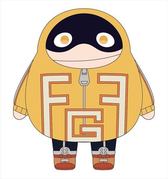 我的英雄學院 「豐滿太志郎」(戰鬥服) 20cm 公仔 (S) Fat Gum Munyu Plush S (Battle Outfit)【My Hero Academia】