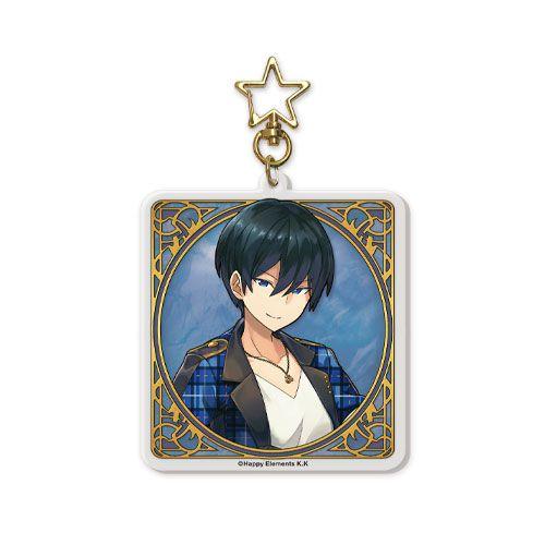 合奏明星 「冰鷹北斗」匙扣 最終休止符 -無止境的螺旋物語- 系列 Last Period Key Chain 01: Hokuto Hidaka【Ensemble Stars!】