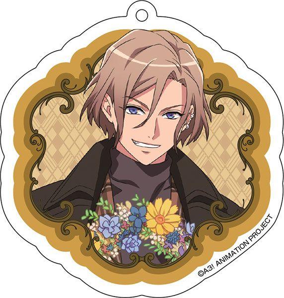 A3! 「摂津萬里」花 Ver. 亞克力匙扣 Acrylic Key Chain (1) Banri Settsu【A3!】
