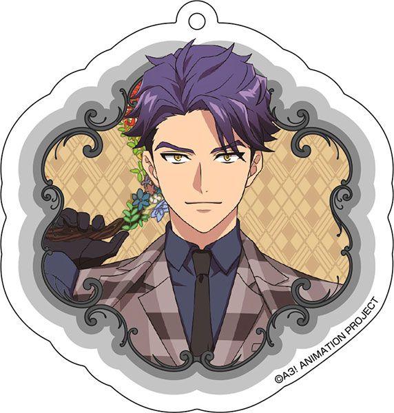 A3! 「兵頭十座」花 Ver. 亞克力匙扣 Acrylic Key Chain (2) Juza Hyodo【A3!】